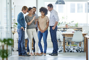 How do your employees collaborate?